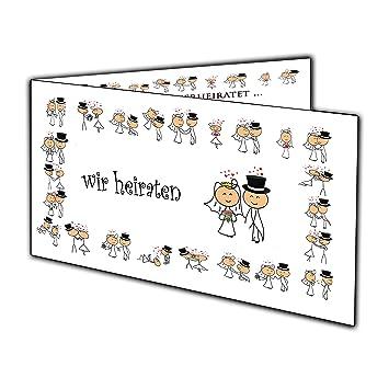 Lustige Comic Einladungskarten Zur Hochzeit Einladung Witzig