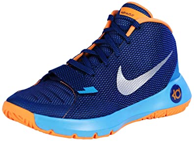 bb7d7cc44913 Nike Men s KD Trey 5 III Basketball Shoes-Insignia Blue Bright Citrus-9