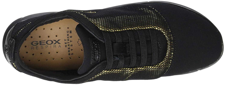 Geox Women's Nebula 16 Sneaker (10.5 B074GGRK93 41 M EU (10.5 Sneaker US)|Gold/Black 8b37bb
