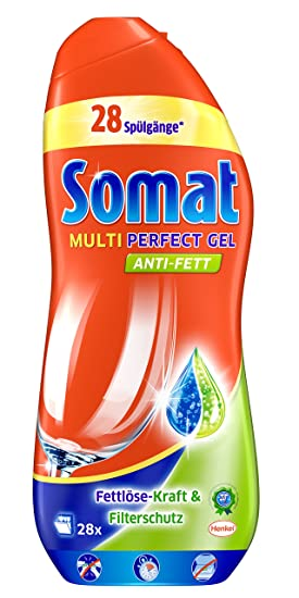 Somat Multi Perfect Gel lavavajillas detergente, 700 ml ...