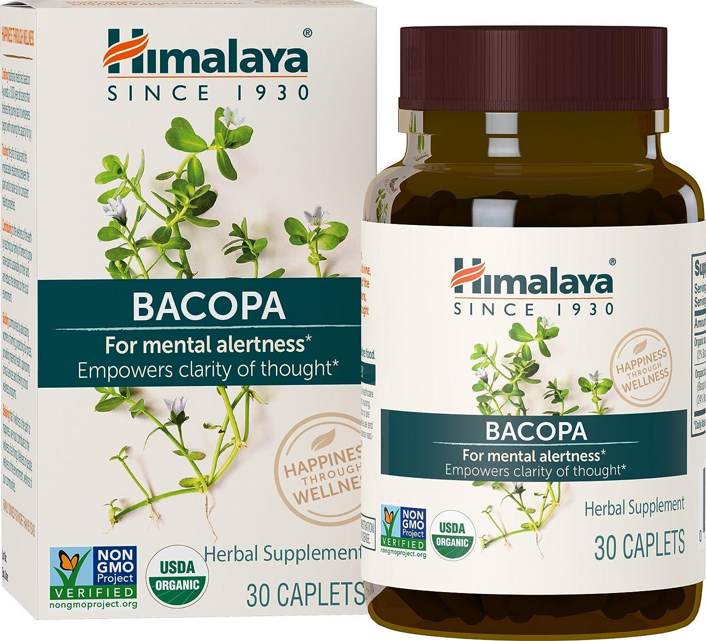 Cápsula del extracto de Bacopa - para mejorar la atención mental, la claridad y el foco - Nootrópico y ayuda a la memoria de forma natural - sin OMG, ...