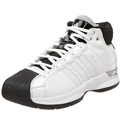 watch b44d4 fde53 adidas Men s Pro Model 08 Team Co Basketball Shoe,Run White Run White