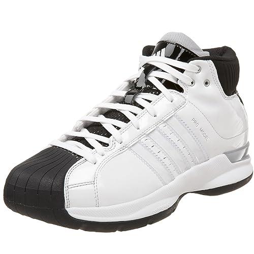 watch a42ce 7ea36 adidas Men s Pro Model 08 Team Co Basketball Shoe,Run White Run White