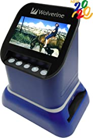 Wolverine F2D Saturn Digital Film & Slide Scanner - Converts 120 Medium Format, 127 Film, Microfiche, 35mm Negatives & Slide