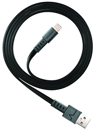 Ventev chargesync Apple Lightning Cable, 3ft Black Cables