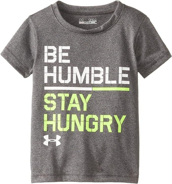 Under Armour Boys Humble /& Hungry Short sleeve Tee