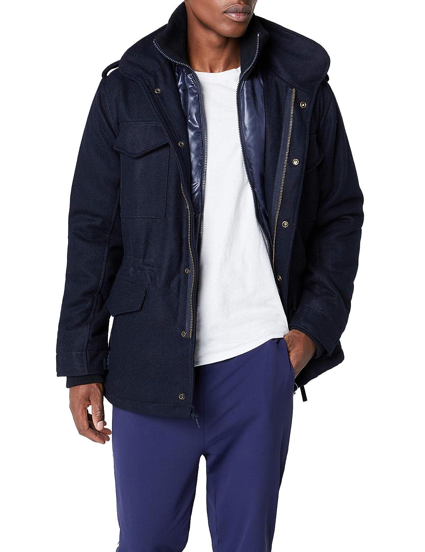 Brandit Mens M-65 Voyager Wool Jacket Woodland at Amazon Mens Clothing store: