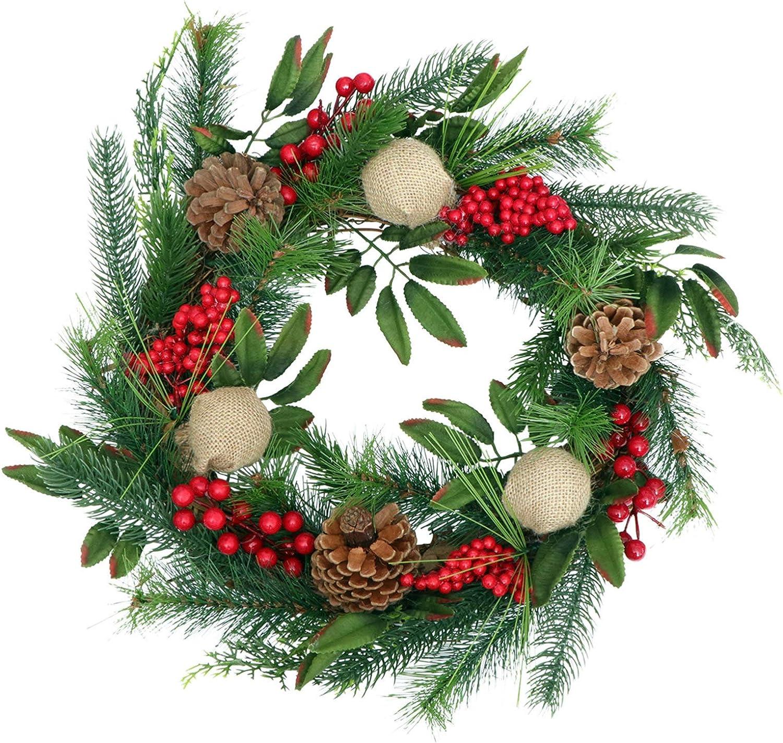 Healifty 2pcs Rattan Wreath Ring Vine Branch Wreath Form ...