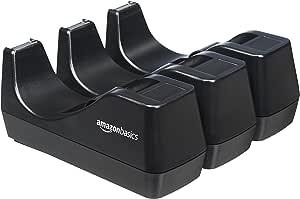 AmazonBasics – Dispensador de cinta adhesiva, Juego de 3