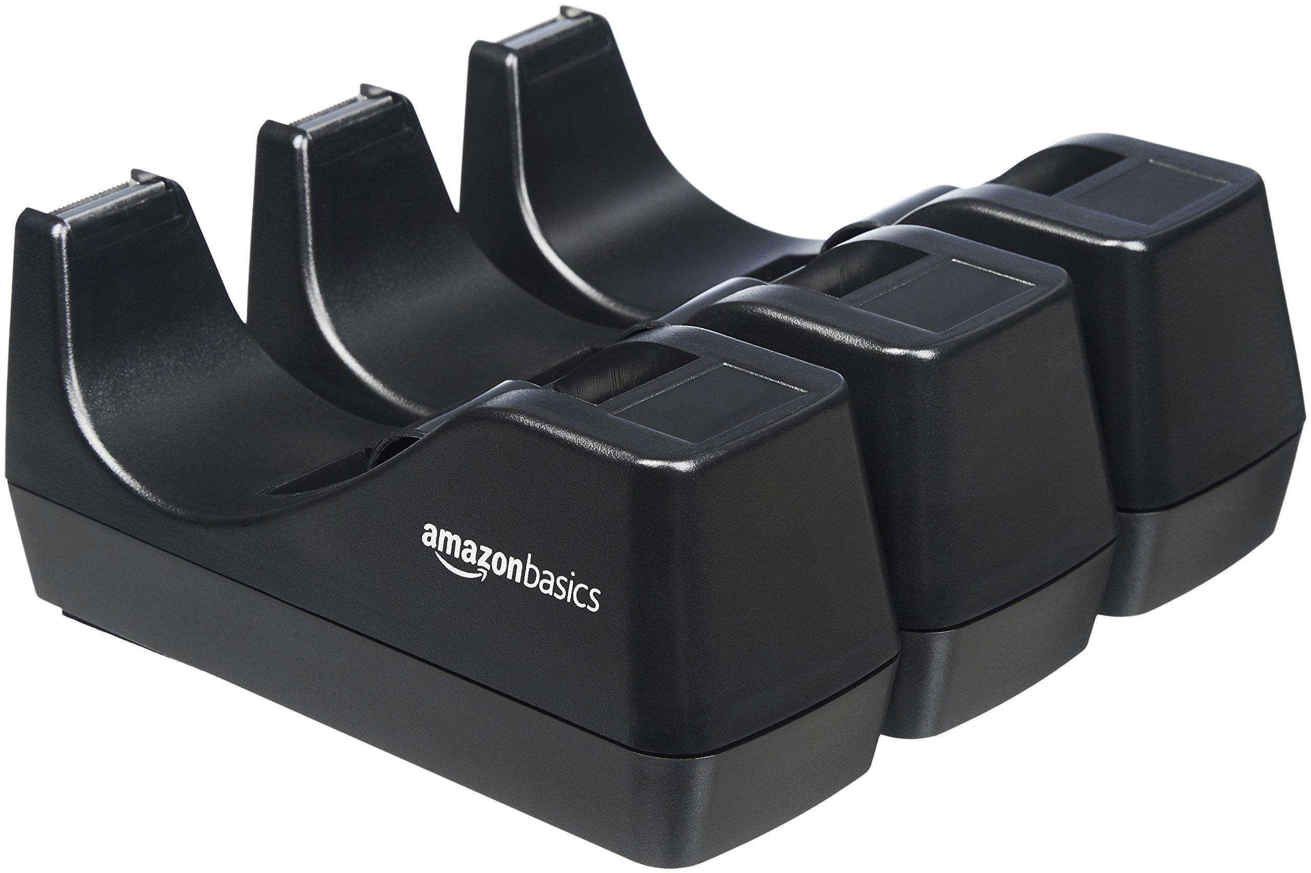 AmazonBasics Tape Dispenser - 3-Pack