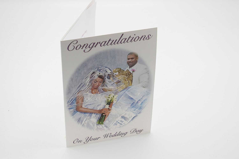 Bdi Cards Black Ethnic Wedding Greeting Card Bb13 Lu152