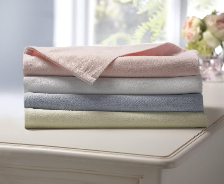 Blue// Pack Of 2 Lollipop Lane  Flannelette Sheets For Cotbed