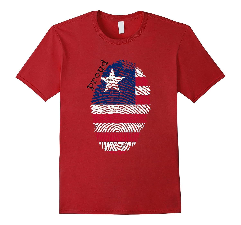 Liberia flag t-shirt - Liberia National Flag-TD