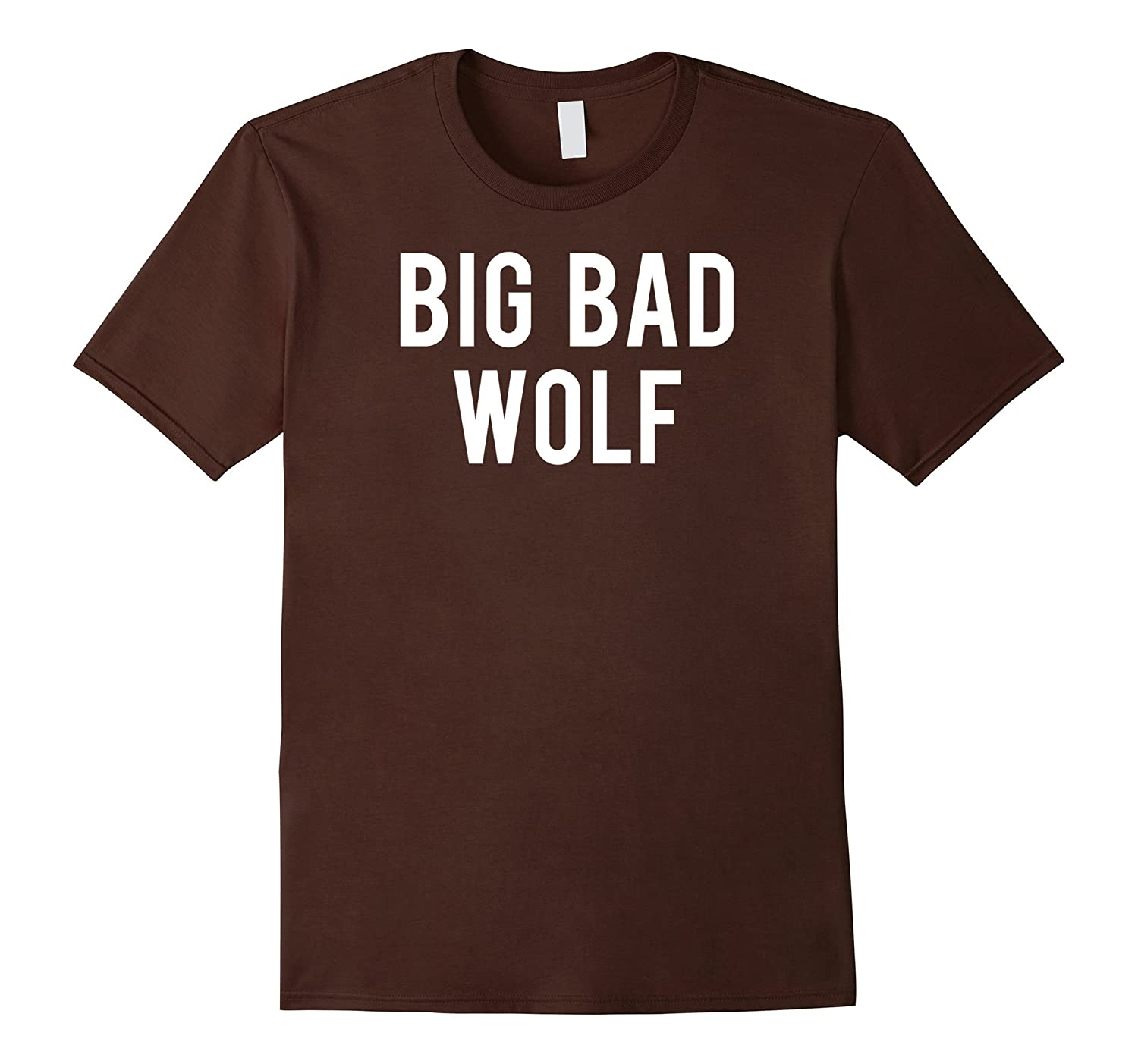 Big bad wolf T Shirt funny Wolves Werewolf cool dog gift tee-AZP