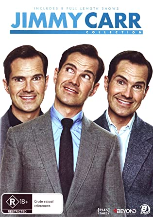 Amazon Com Jimmy Carr Collection 8 Discs Non Usa Format Pal