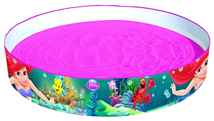 Amazon.com: La Sirenita Fill n Fun piscina hinchable ...