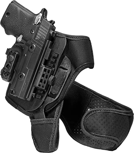 Alien Gear ShapeShift Ankle Holster - Custom Fit to Your Gun (Select Pistol Size) - Concealed Carry - Adjustable Retention - Made in The USA