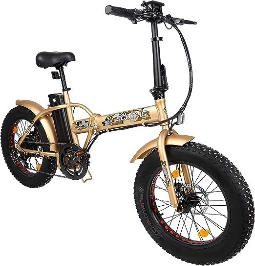 Bicicleta eléctrica ecológica de 20 Pulgadas con Marco de Aluminio ...