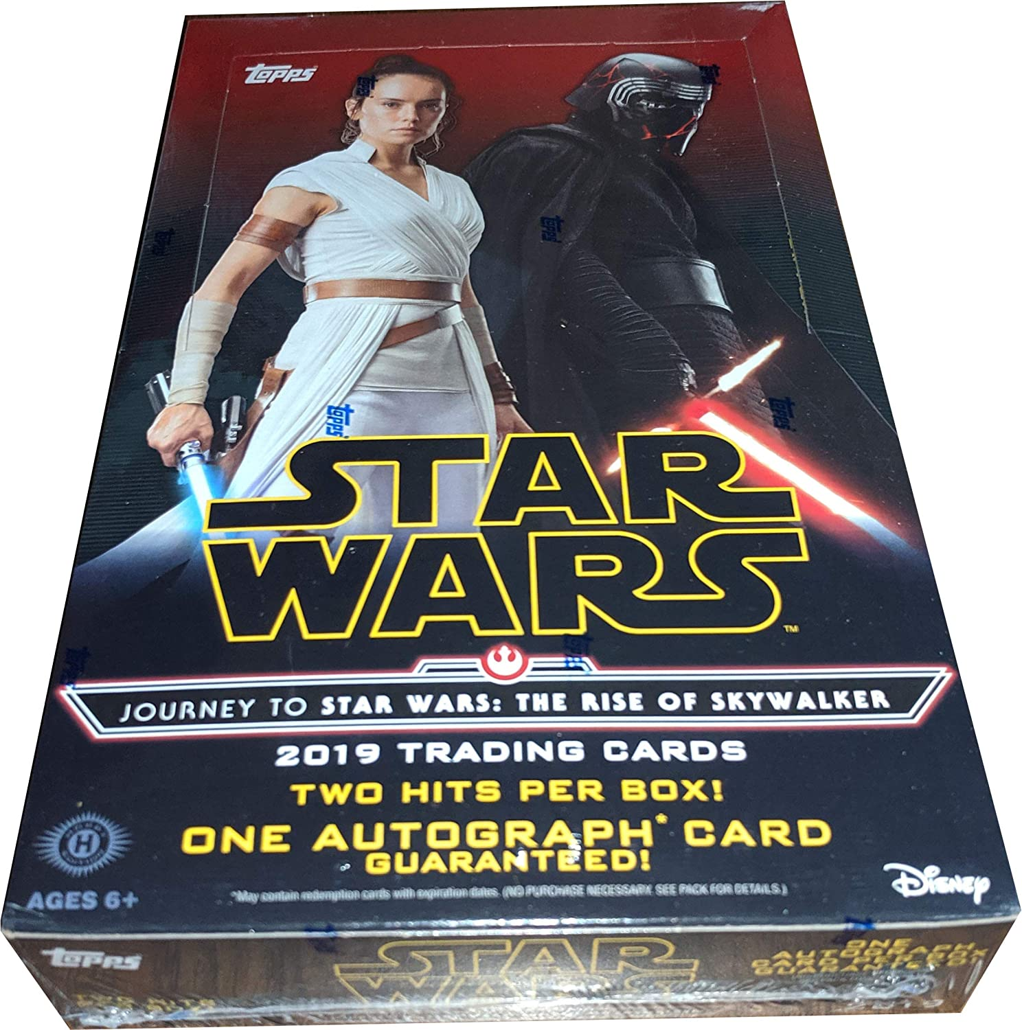 Topps 2019 Star Wars Journey To Rise Of Skywalker Factory Sealed Trading Card Hobby Box At Amazon S Entertainment Collectibles Store