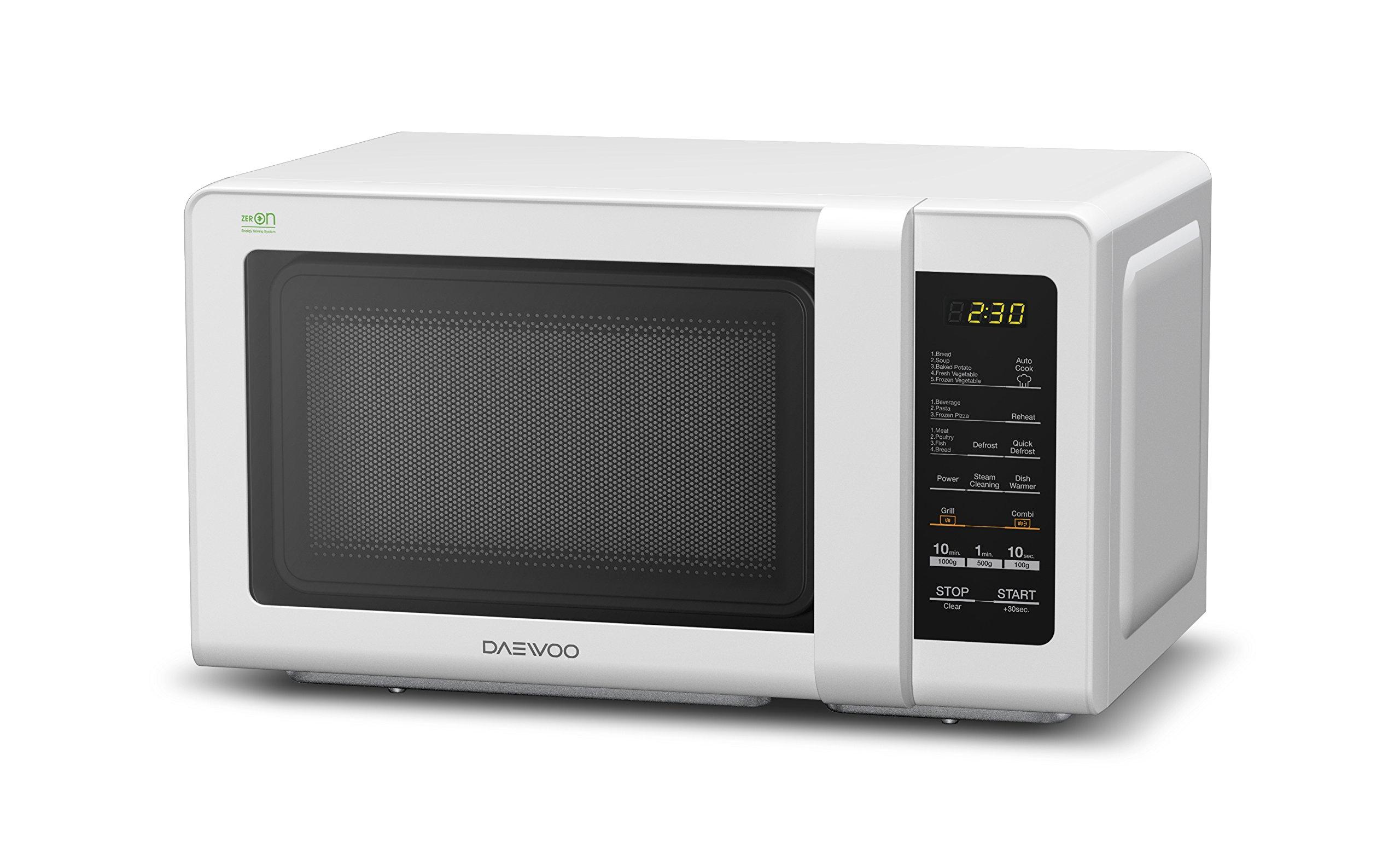 Daewoo KOG-6F2B Microondas, 20 litros, Digital, con Grill, Color Blanco product image