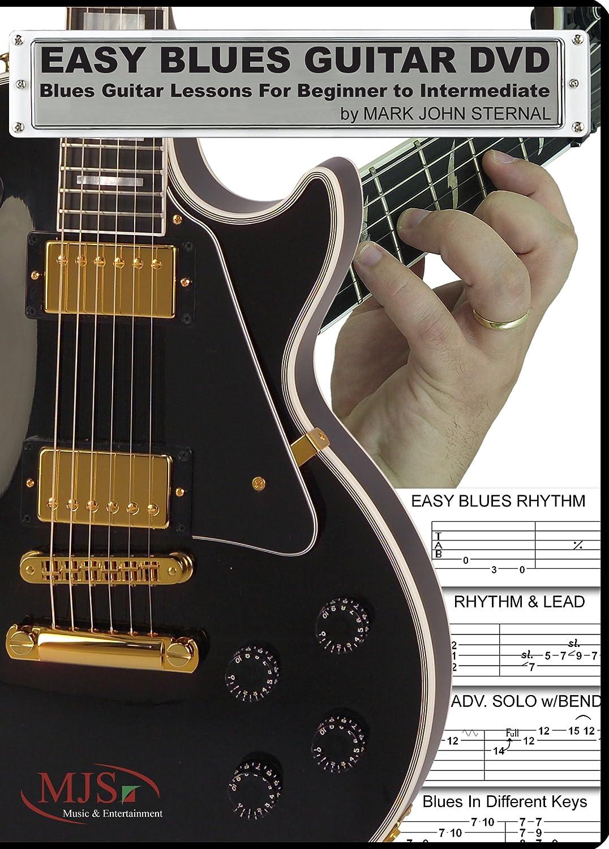 Amazon easy blues guitar dvd blues guitar lessons for amazon easy blues guitar dvd blues guitar lessons for beginner through intermediate mark john sternal movies tv baditri Images