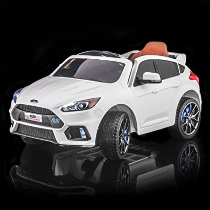 Amazon Com Licensed Ford Focus Rs Kid S Ride On Electric Toy Car