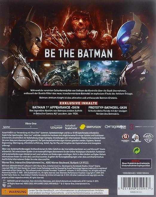 Batman: Arkham Knight - Special Steelbook Edition [Importación ...