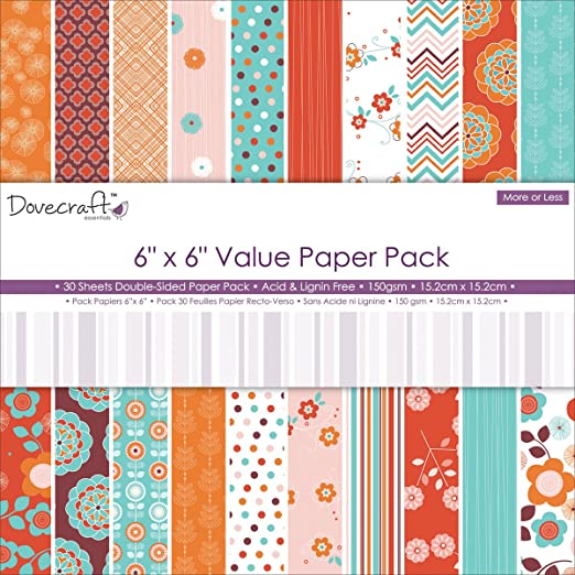 DOVECRAFT PREMIUM COLLECTION 12 SHEETS FROMFOLKLAND 6 x 6 PRINTED PAPERS
