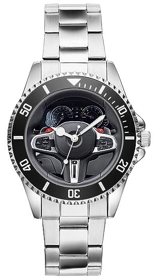 a0bb2ddcd1fb Regalo para BMW M5 F90 Fan Conductor Kiesenberg Reloj 20639  Amazon.es   Relojes
