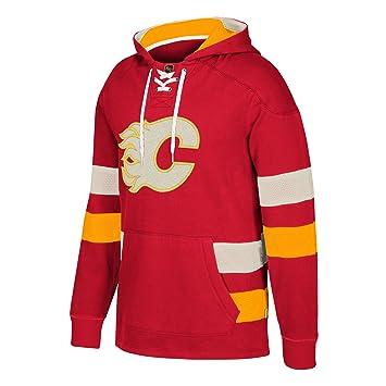 Adidas Calgary Llamas CCM NHL Pena Matar de Hombre Vintage Jersey Sudadera - 703FAH A6M, Negro: Amazon.es: Deportes y aire libre