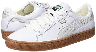 Puma Basket Classic Gum Deluxe, Sneakers Basses Mixte Adulte