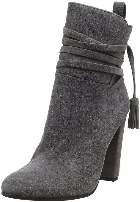 38d1559ac451c STEVEN by Steve Madden Glorria Ankleboot, Women's Ankle Boots, Grey (Grey),