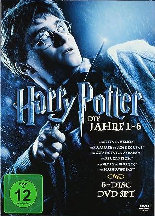 Harry Potter Dvd Box Jahre 1 6 Import Amazon Fr Potter Harry Dvd Blu Ray