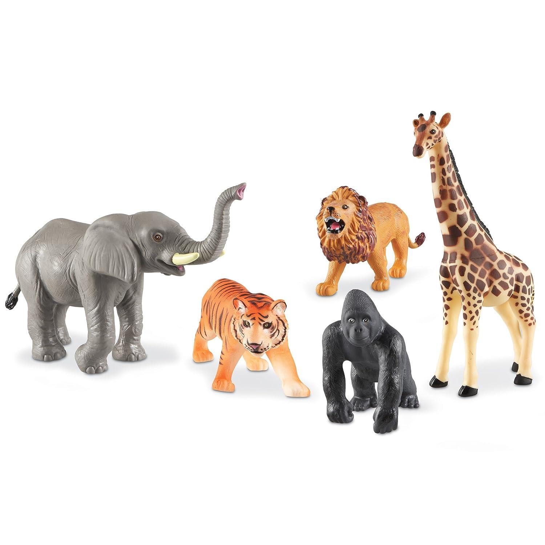 Learning Resources Jumbo Jungle Animals LER0693