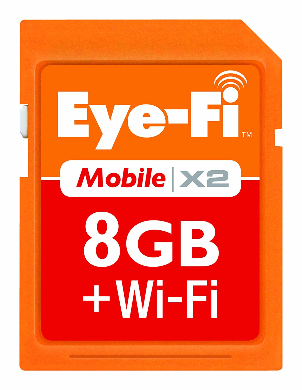 Amazon.com: Eye-Fi 8 GB Mobile X2 SDHC Class 6 Wireless ...
