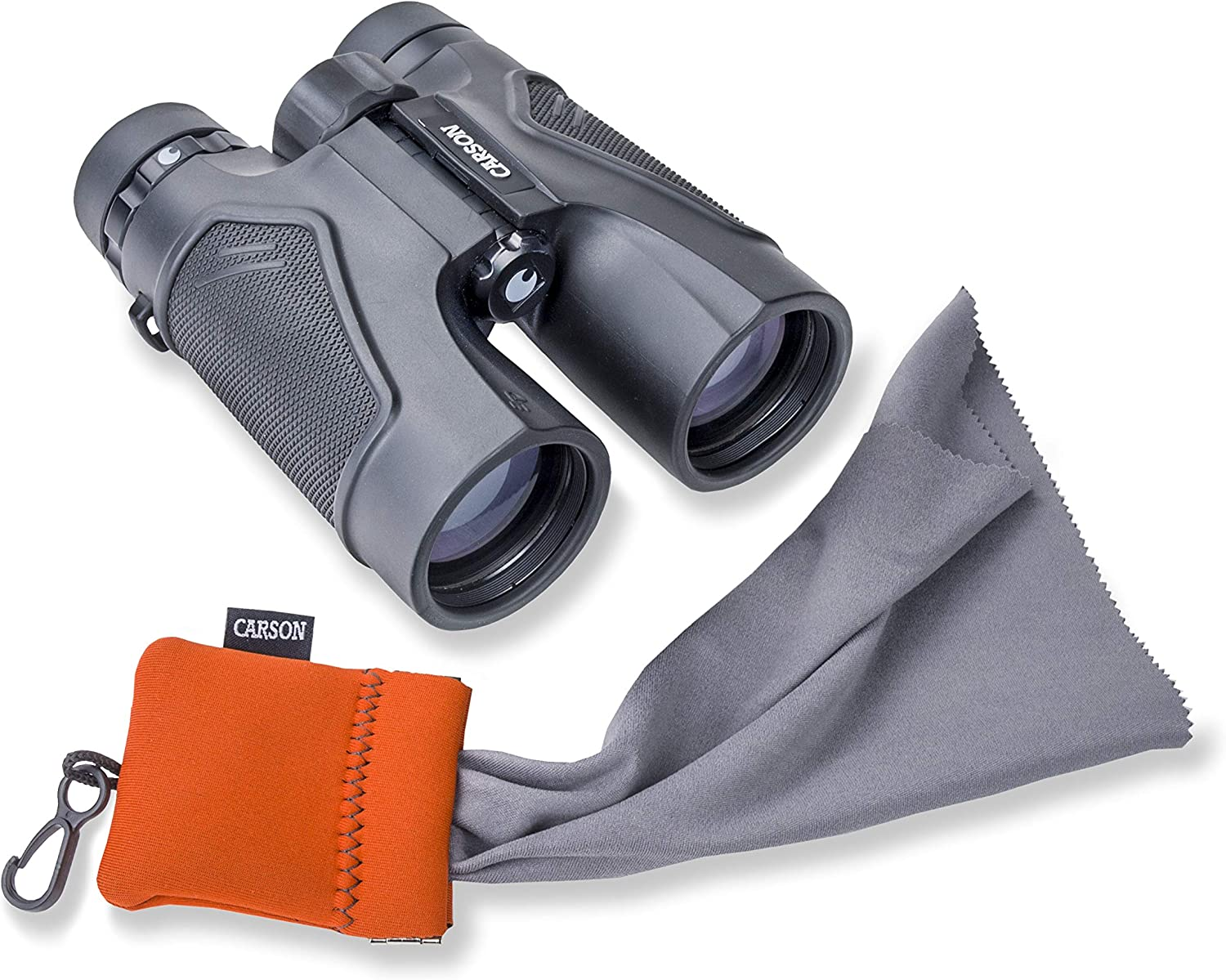 Binoculars Cameras Tablets Scopes Optics and More Carson Stuff-It Microfiber Cleaning Cloths for Eyeglasses Smartphones