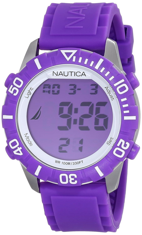 Nautica Unisex N09931G NSR 100 Fashion Digital Watch t cbcbceaec0b