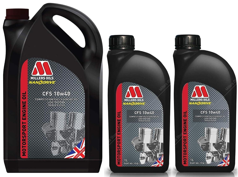 Millers CFS 10W40 Competition - Aceite para Motor de Nanodrive (7 L ...