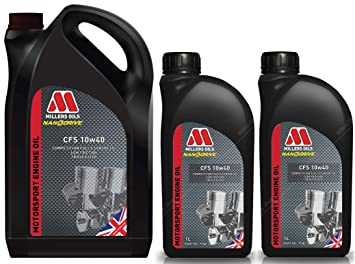 Millers CFS 10W40 Competition - Aceite para Motor de Nanodrive (7 L)
