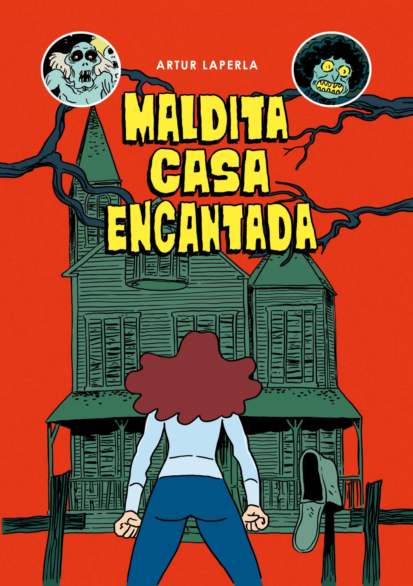 Maldita casa encantada (Cómic / Nov. Gráfica): Amazon.es: Laperla, Artur: Libros