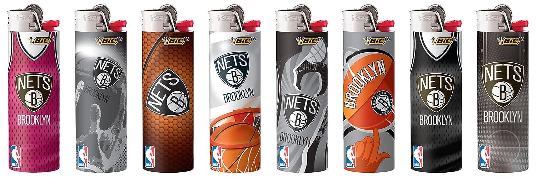BIC Brooklyn Nets NBA Lighters 8 Pack Bic USA