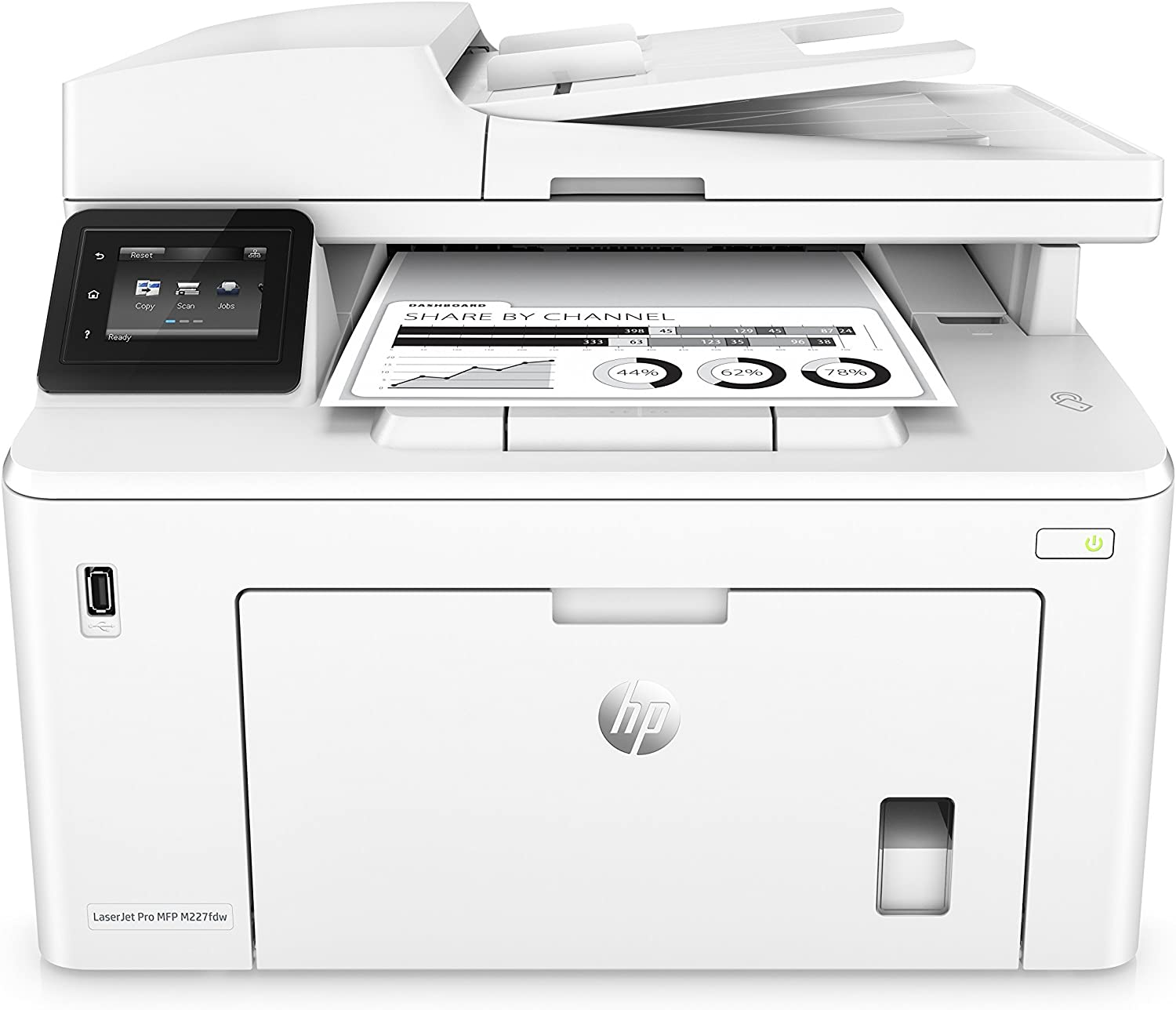 HP Laserjet Pro M227fdw All-in-One Wireless Laser Printer, Amazon Dash Replenishment Ready (G3Q75A). - (Renewed)