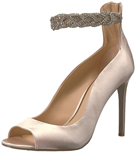9a24b9dc27eb Amazon.com  Badgley Mischka Jewel Women s Alanis Heeled Sandal  Shoes