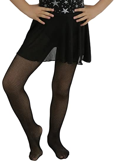 3e7dde444fec45 Amazon.com: ToBeInStyle Girl's Girls Fishnet Pantyhose: Clothing