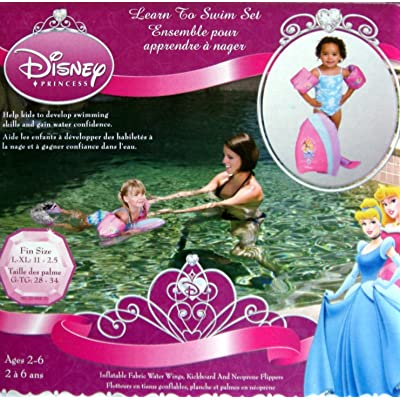 Disney PRINCESS Learn to Swim 5piece Set--Ages 2-6: Toys & Games