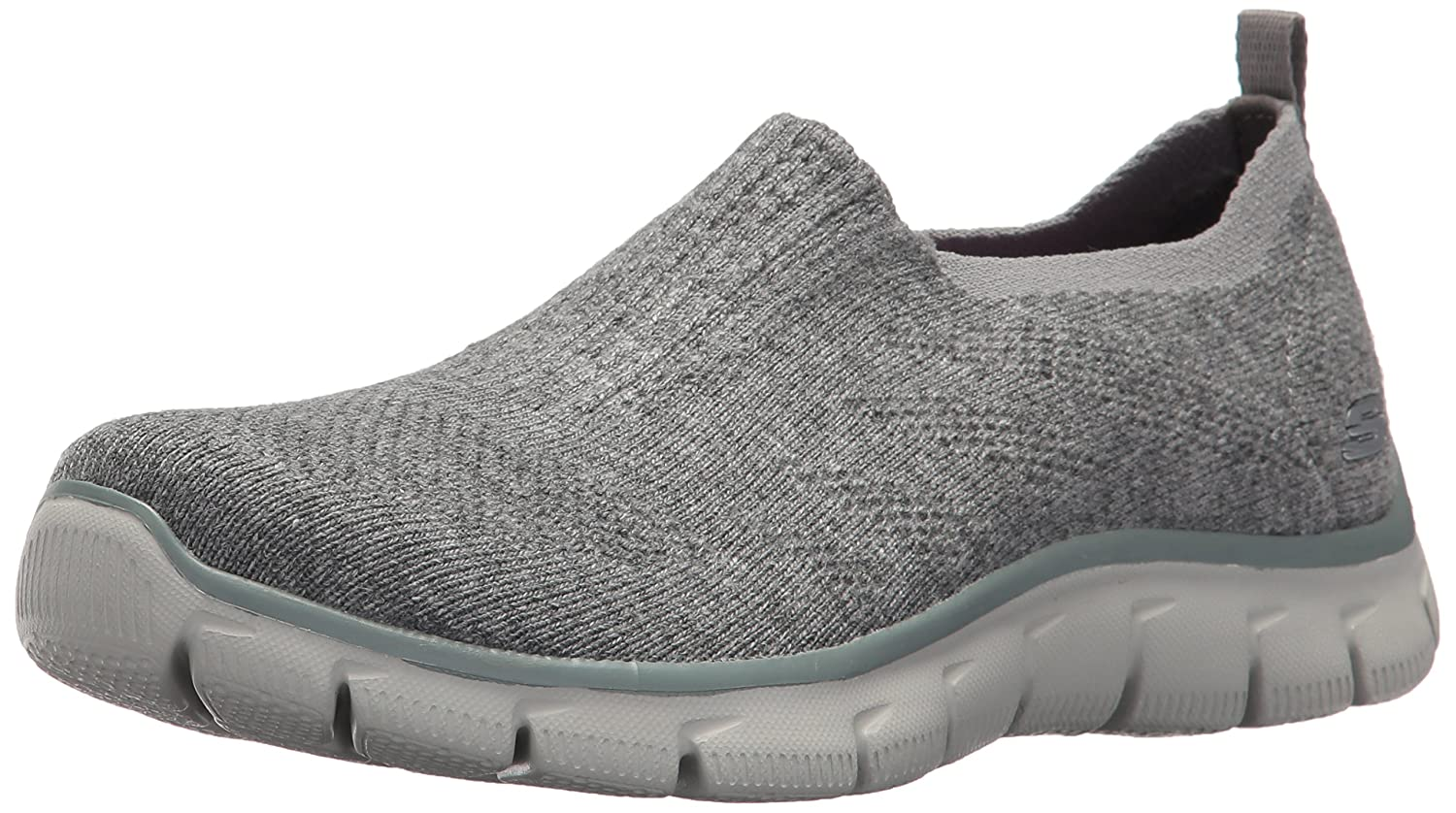 Skechers Women's Empire Clear As Day Sneaker B01N369SBD 6 B(M) US|Grey