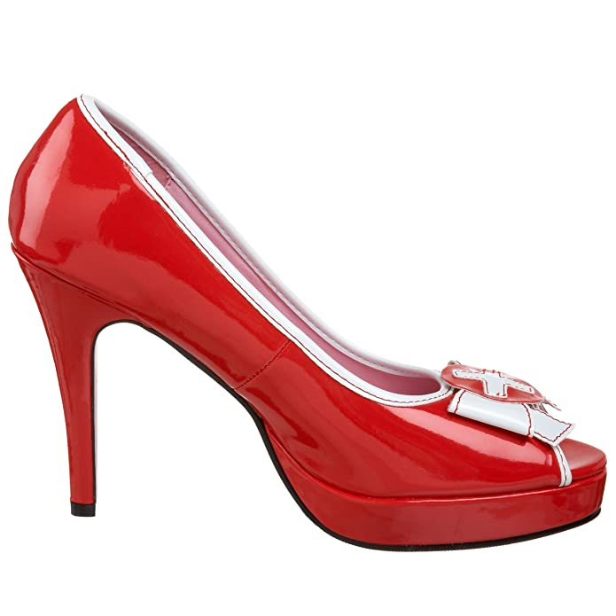 Leg Avenue - Zapatos de vestir para mujer rojo rojo 40 NdN0e4J