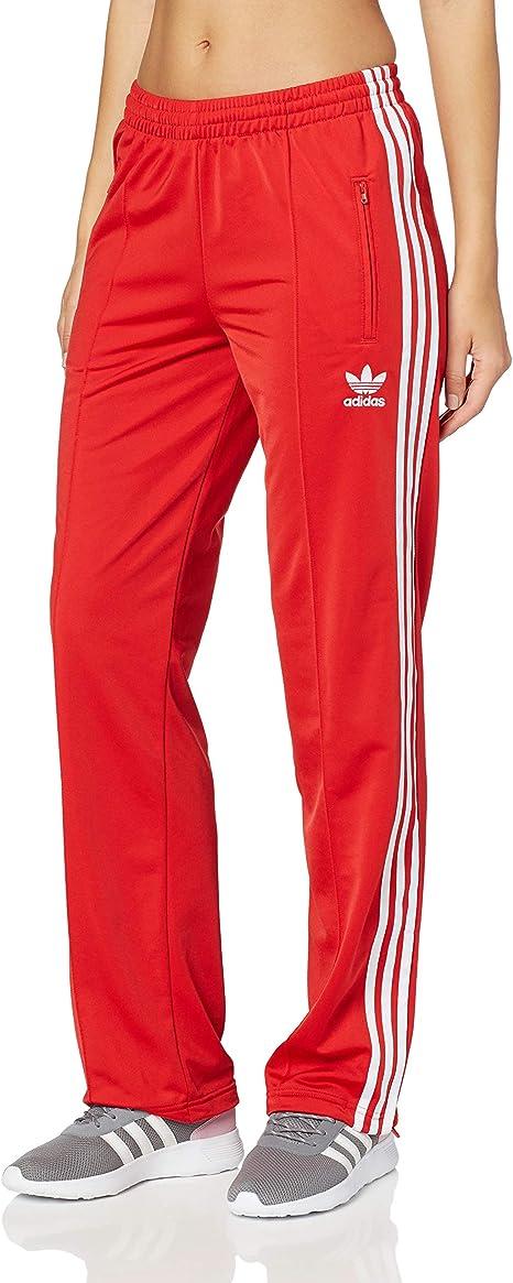 adidas Originals Damen Firebird Trainingshose Rot