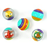 Bright Starts 9079 - Palline shake&spin activity balls 6mesi+