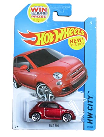new car release for 2014Amazoncom HOT WHEELS 2014 RELEASE RED FIAT 500 DIECAST